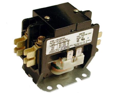 Contactor (120V, 30A)