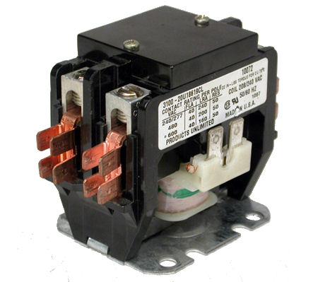 Contactor (240VAC, 40A)