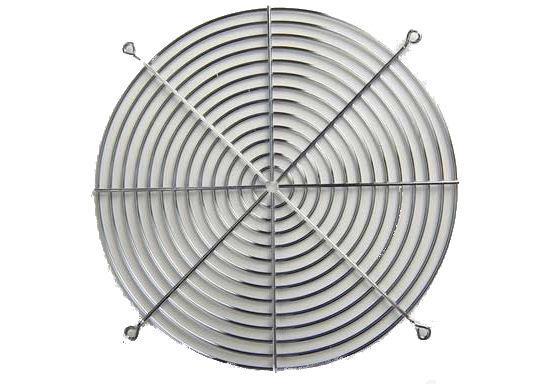 """Grill, Fan 10"""" Wire"""
