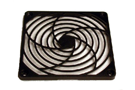 "Grill, Fan 4"" Plastic"