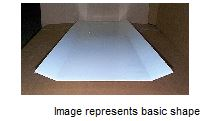 SUNFIT 2400/1280 W/1 HAWAII CANOPY ACRYLIC