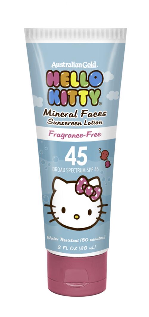 Hello Kitty SPF 45 Face Lotion