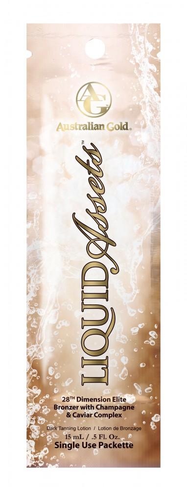 Liquid Assets™ 28th Dimension Elite Bronzer with Champagne & Caviar Complex Pkt