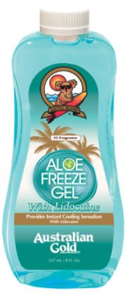 Aloe Freeze Gel w/Lidocaine