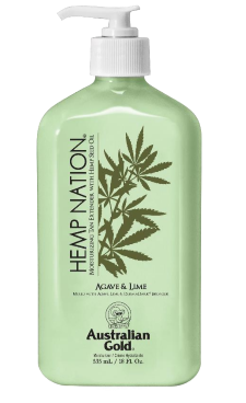 Hemp Nation® Agave & Lime Moisturizing Tan Extender with Hemp Seed Oil