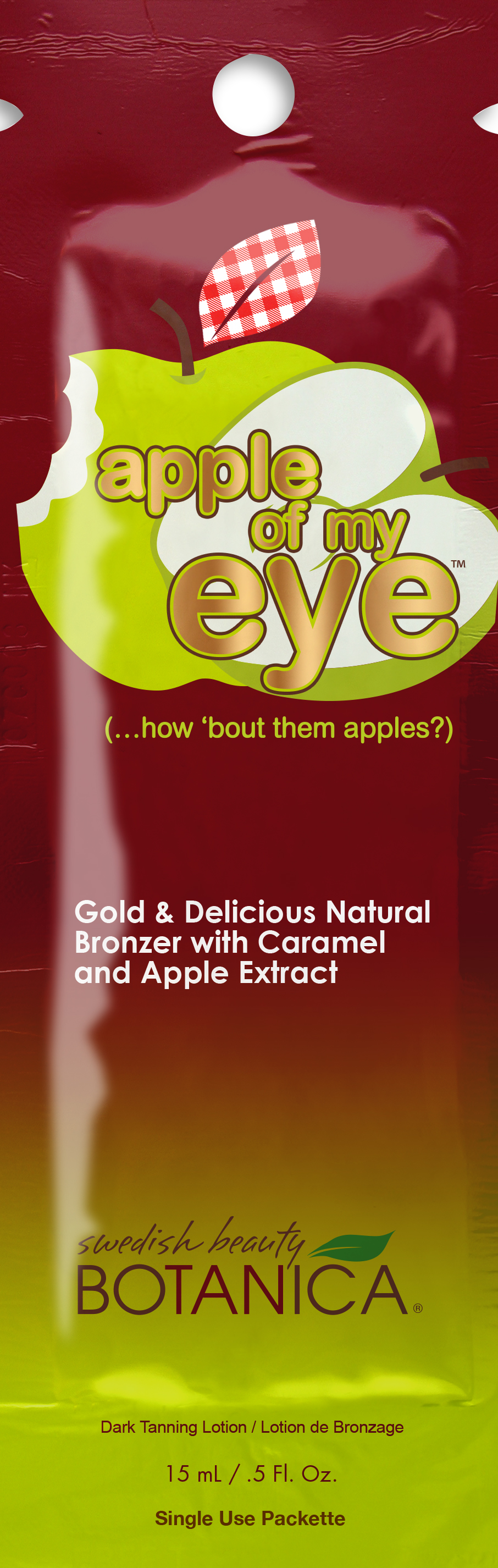 Apple of My Eye™ Gold & Delicious Natural Bronzer Pkt