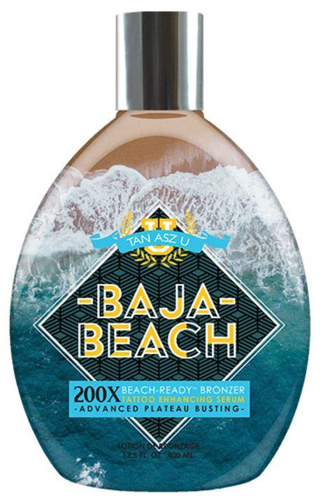 Baja Beach 200X Beach-Ready™ Bronzer Advanced Plateau Busting & Tattoo Enhancing Serum