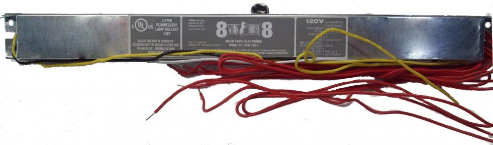 Ballast (120VAC, WH8-120-L)