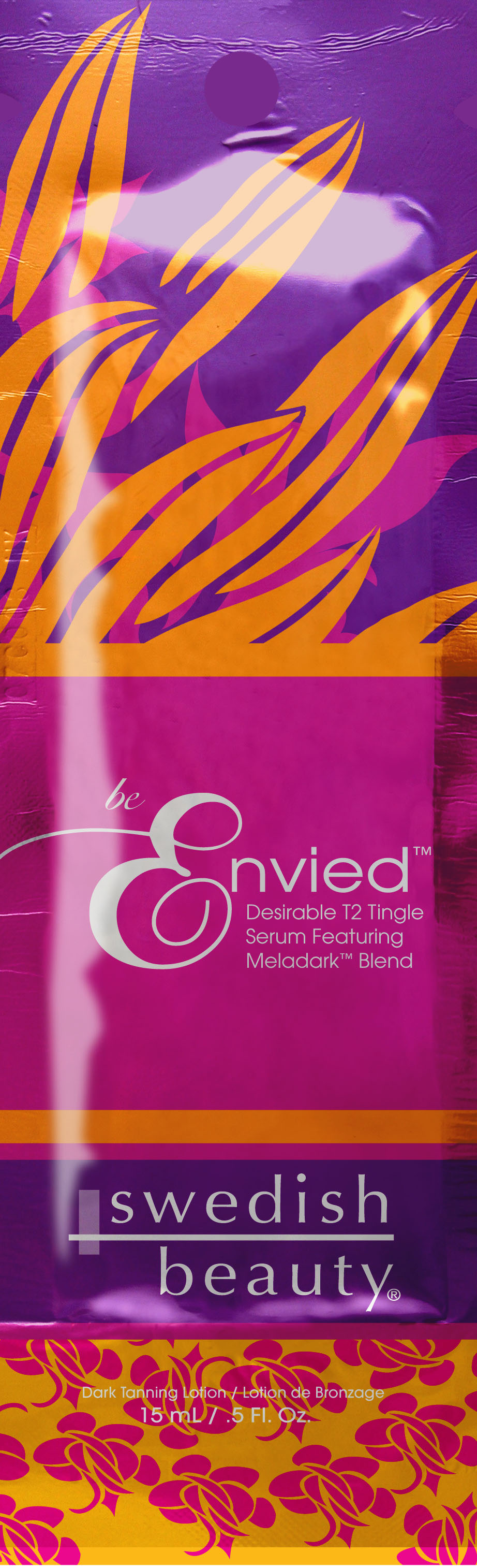 Be Envied™ Desirable Bronzing Serum with T2 Skin Awakening™ Tingle Technology Pkt