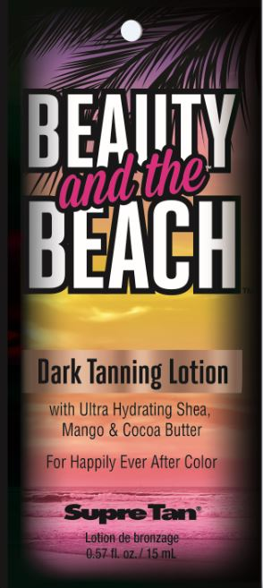 Beauty and the Beach™ Dark Tanning Lotion Pkt