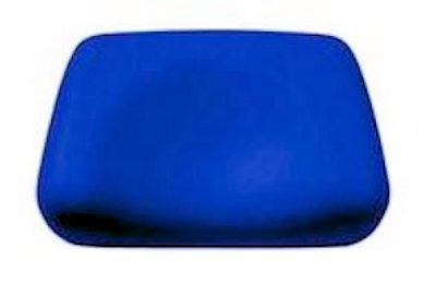 Foam Contour Pillow-Blue