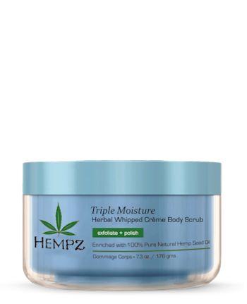 Hempz® Triple Moisture Herbal Whipped Creme Body Scrub