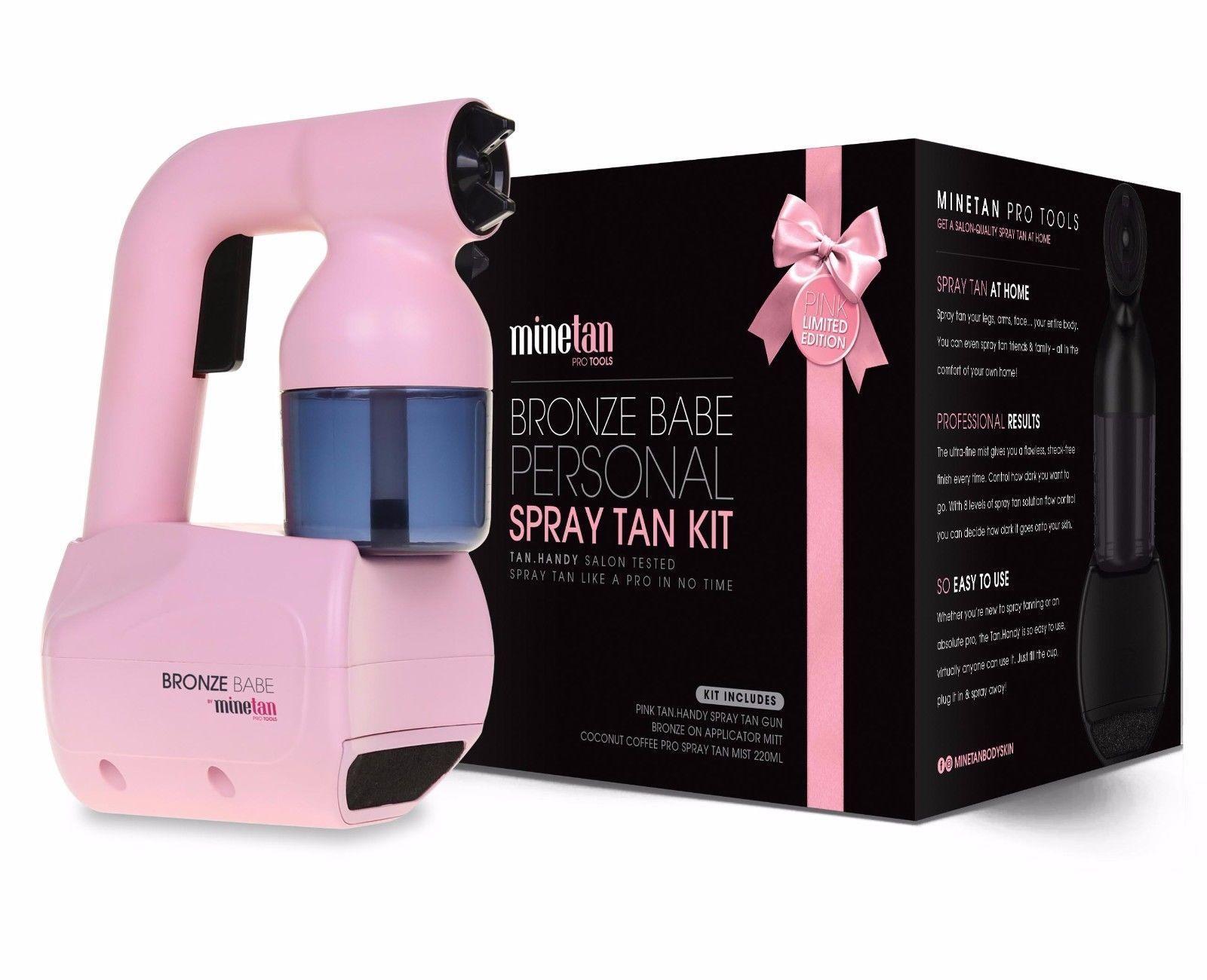 Mine Tan Bronze BABE Personal Spray Tan Kit