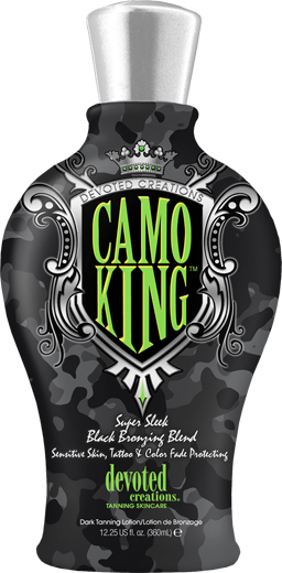 Camo King™ Camouflages, Mattifyes and Hydrates, Tattoo & Color Fade Protecting