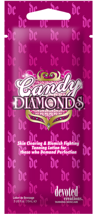 Candy Diamonds™ Skin Clearing & Blemish Fighting Tanning Lotion