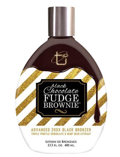 Black Chocolate Fudge Brownie