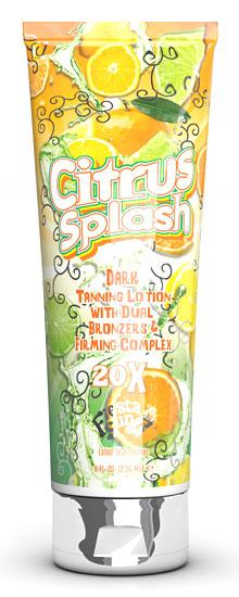 Citrus Splash™ 20X Dark Tanning w/Dual Bronzers
