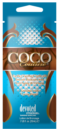 Coco Couture™ Exotic Coconut Crème Oil Smooth Bronzers + Anti-Aging & Firming