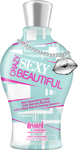 Crazy Sexy Beautiful™ Triple Dark Silicone Bronzer with Cooling Essence