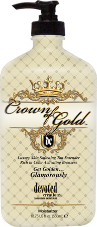 Crown Of Gold™ Tan Extender with Bronzer