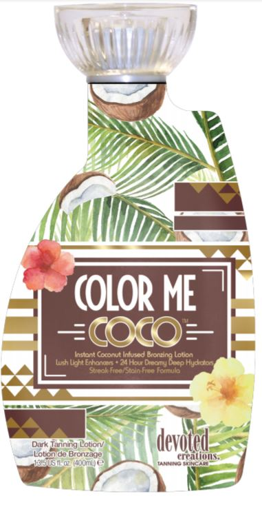 Color Me Coco Instant Coconut Infused Bronzing Lotion