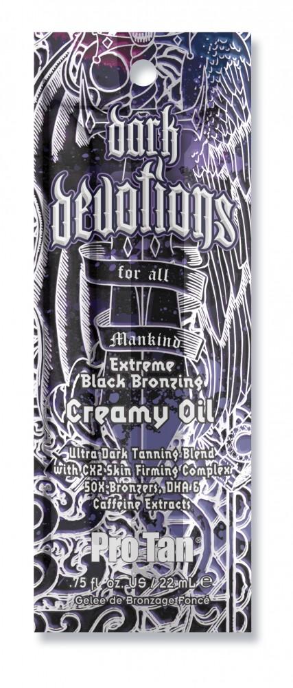 Dark Devotions® Extreme Black Bronzing Creamy Oil