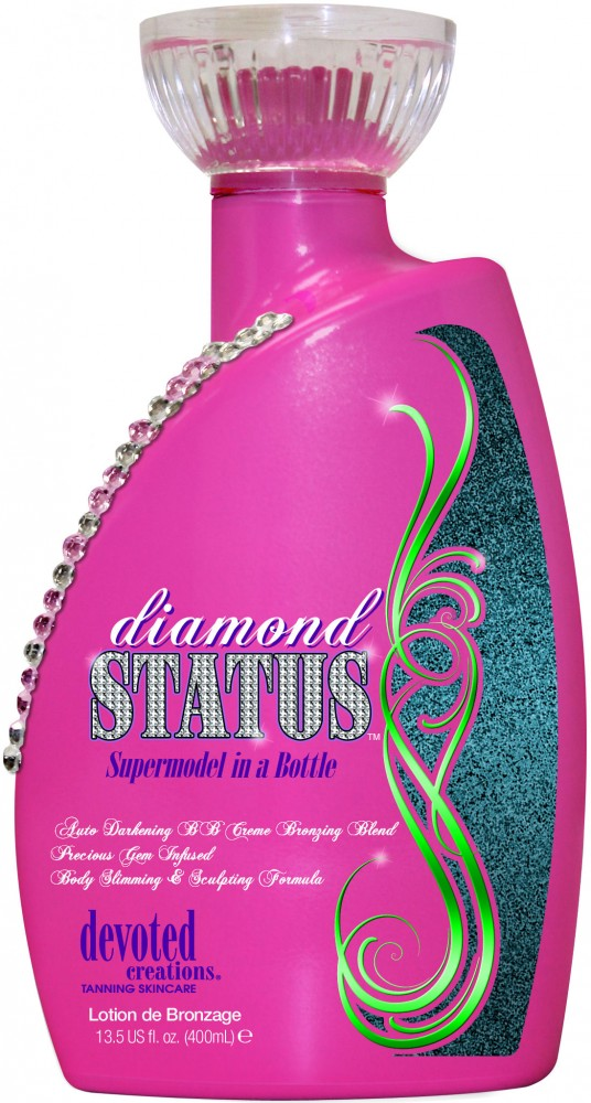 Diamond Status™ Auto Darkening CC Crème Bronzing Blend Precious Gem Infused Body Slimming and Sculpting Formula