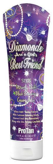 Diamonds Are A Girls Best Friend™ 50XXX Black Bronzer