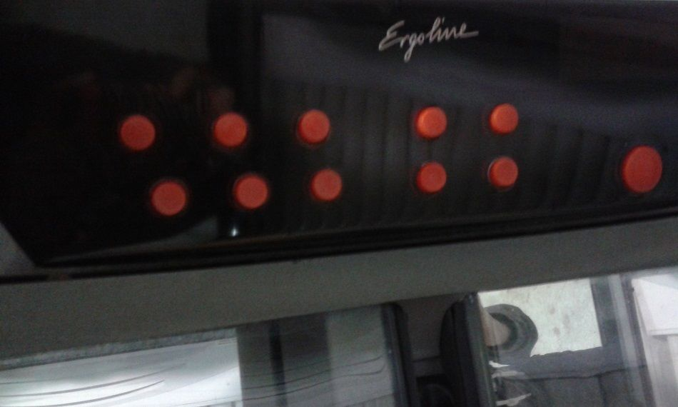 Ergoline Tanning Bed Buttons