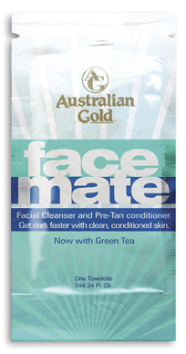 FaceMate™ Towelette - Facial Cleanser and Pre-Tan Conditioner