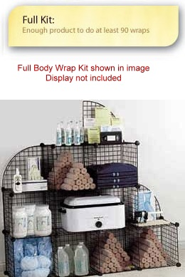 "SlenderQuest ""Full"" Body Wrap Kit"