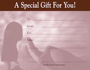 Gift Certificate Kit