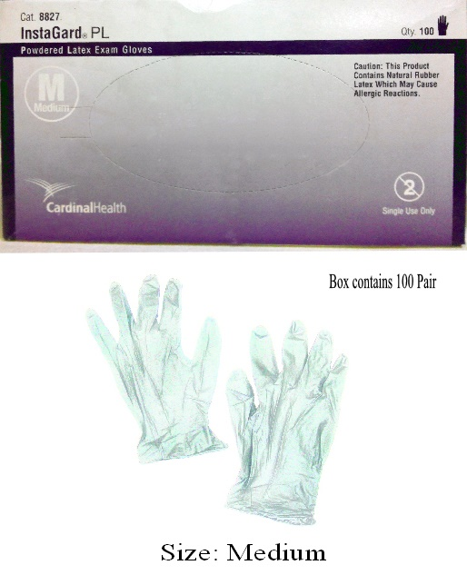 Disposable Latex Gloves (Medium)
