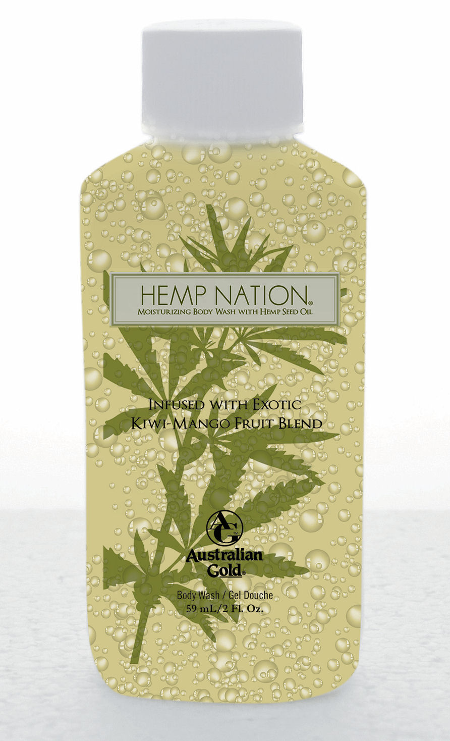 Hemp Nation® Kiwi-Mango Body Wash