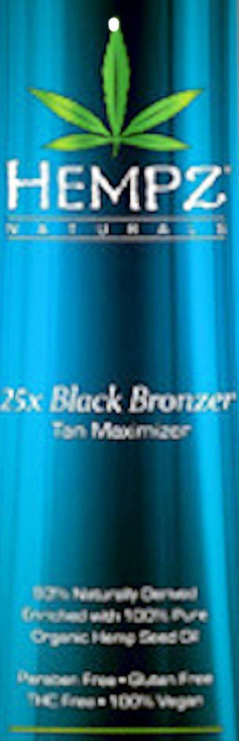 Hempz Naturals® 25X Black Bronzer Pkt