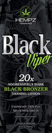 Hempz® Black Viper 20x Black Bronzer Pkt