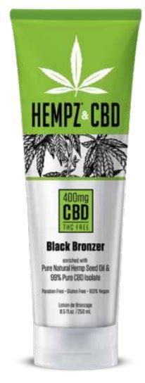 Hempz & CBD Black Bronzer
