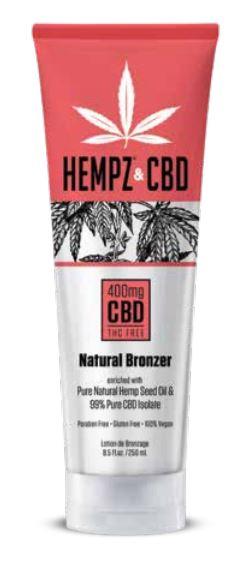 Hempz & CBD Natural Bronzer