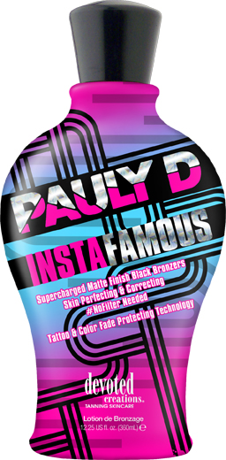 Pauly D InstaFamous™ Matte Finish Black Bronzers Skin Perfecting & Correcting