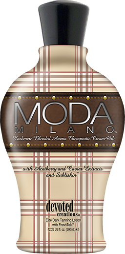 Moda Milano™ Cashmere Blended Aroma Therapeutic Cream Oil With Acai Berry, Caviar Extracts & Subliskin™
