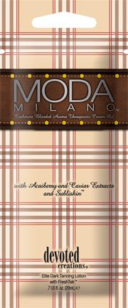 Moda Milano™ Cashmere Blended Aroma Therapeutic Cream Oil Pkt