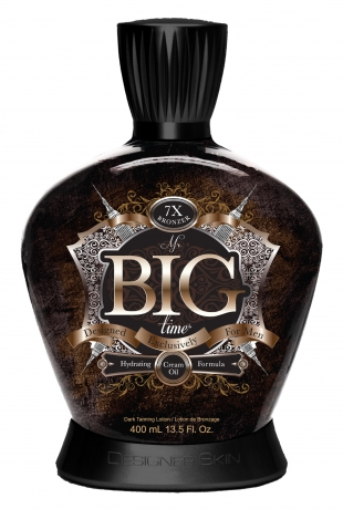 Mr. Big Time™ 7X Bronzer Cream Oil Formula with Tattoo Protection