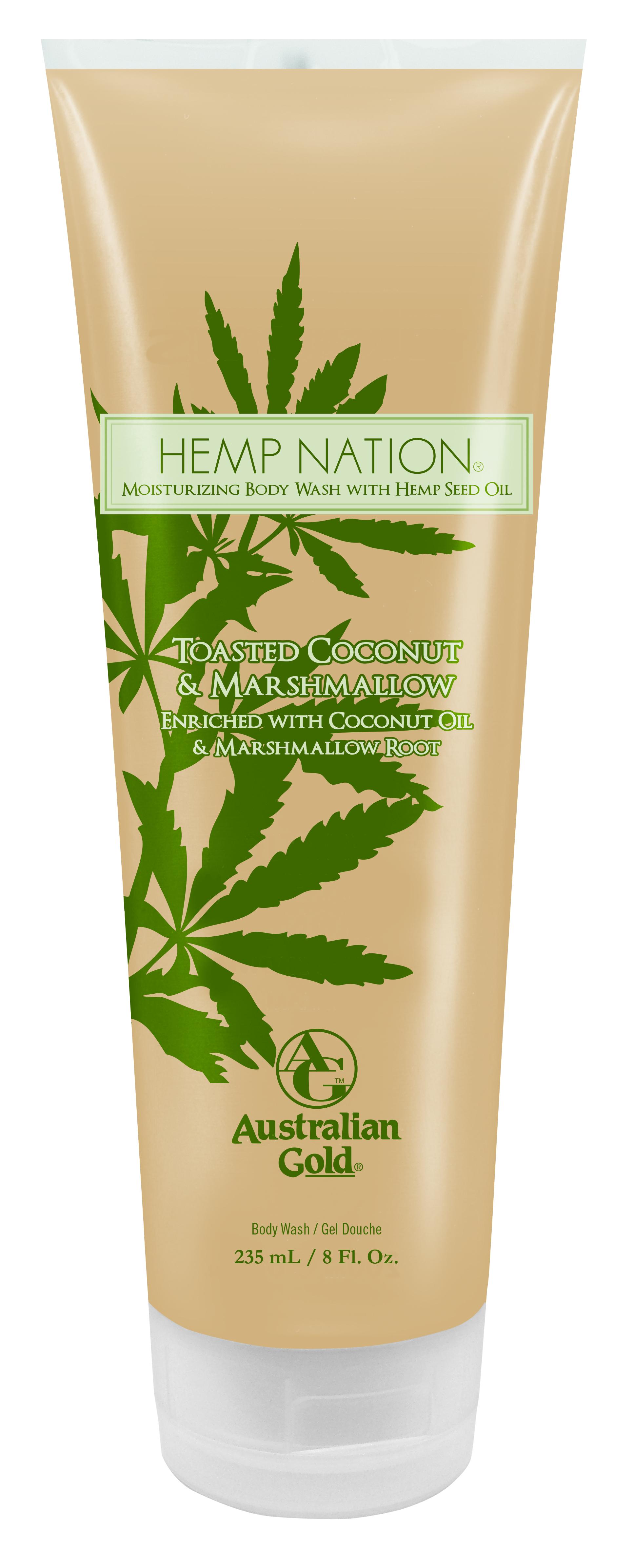 Hemp Nation® Toasted Coconut & Marshmallow Body Wash