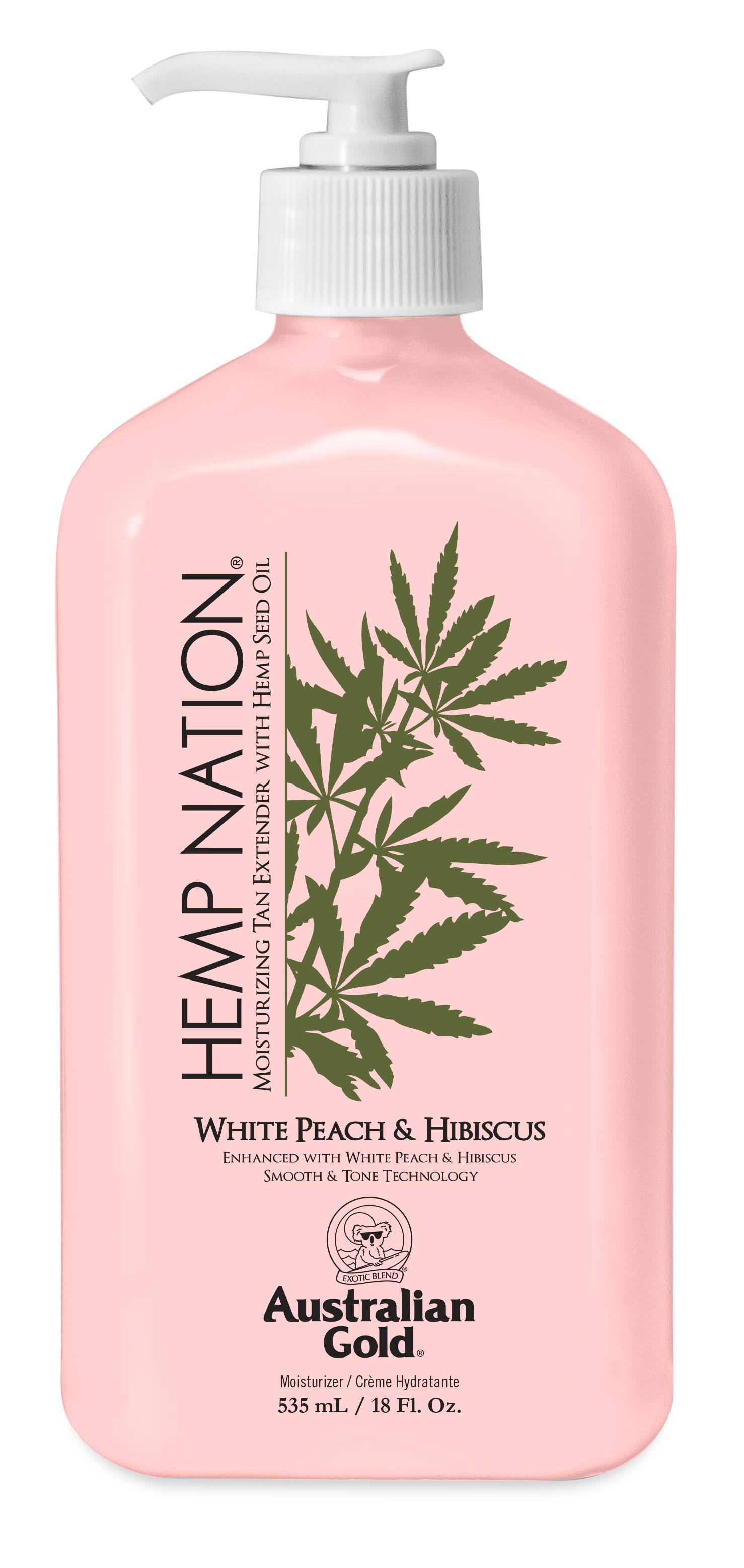 Hemp Nation® White Peach & Hibiscus Tan Extender