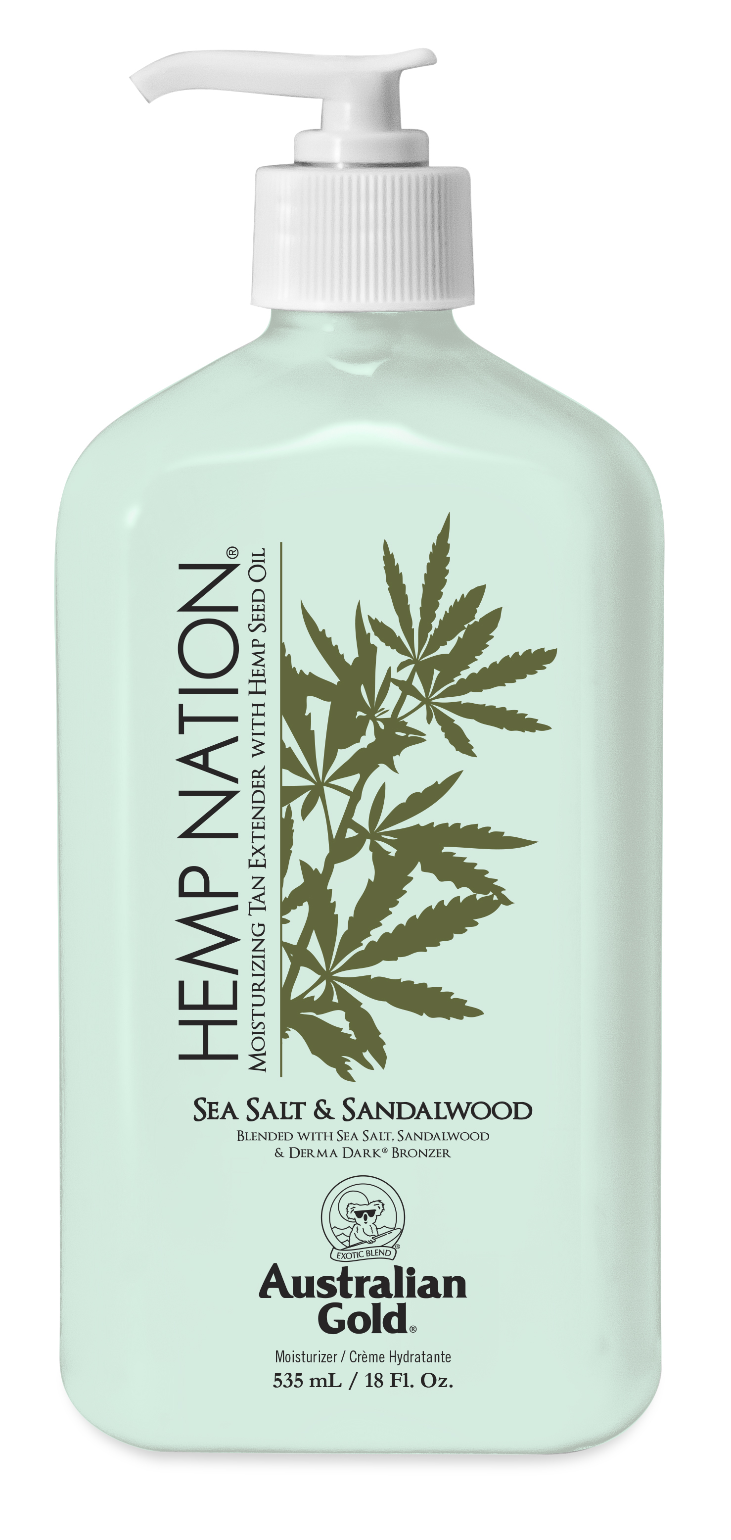Hemp Nation® Sea Salt & Sandalwood Tan Extender