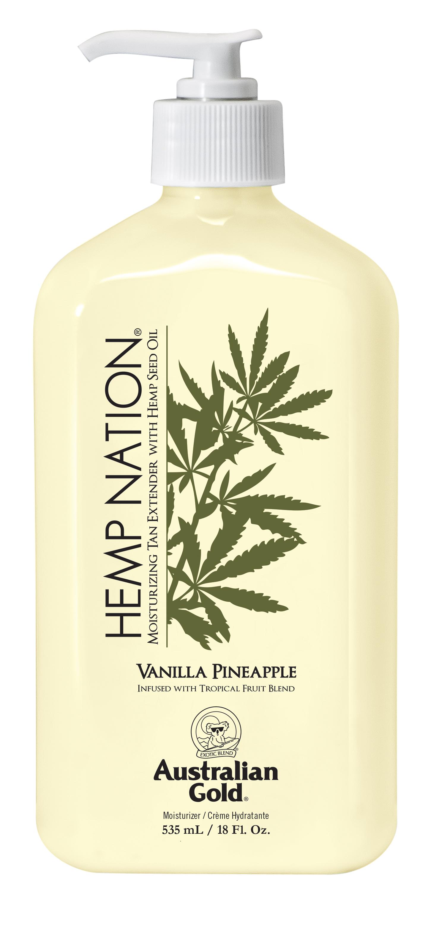 Hemp Nation® Vanilla Pineapple Tan Extender