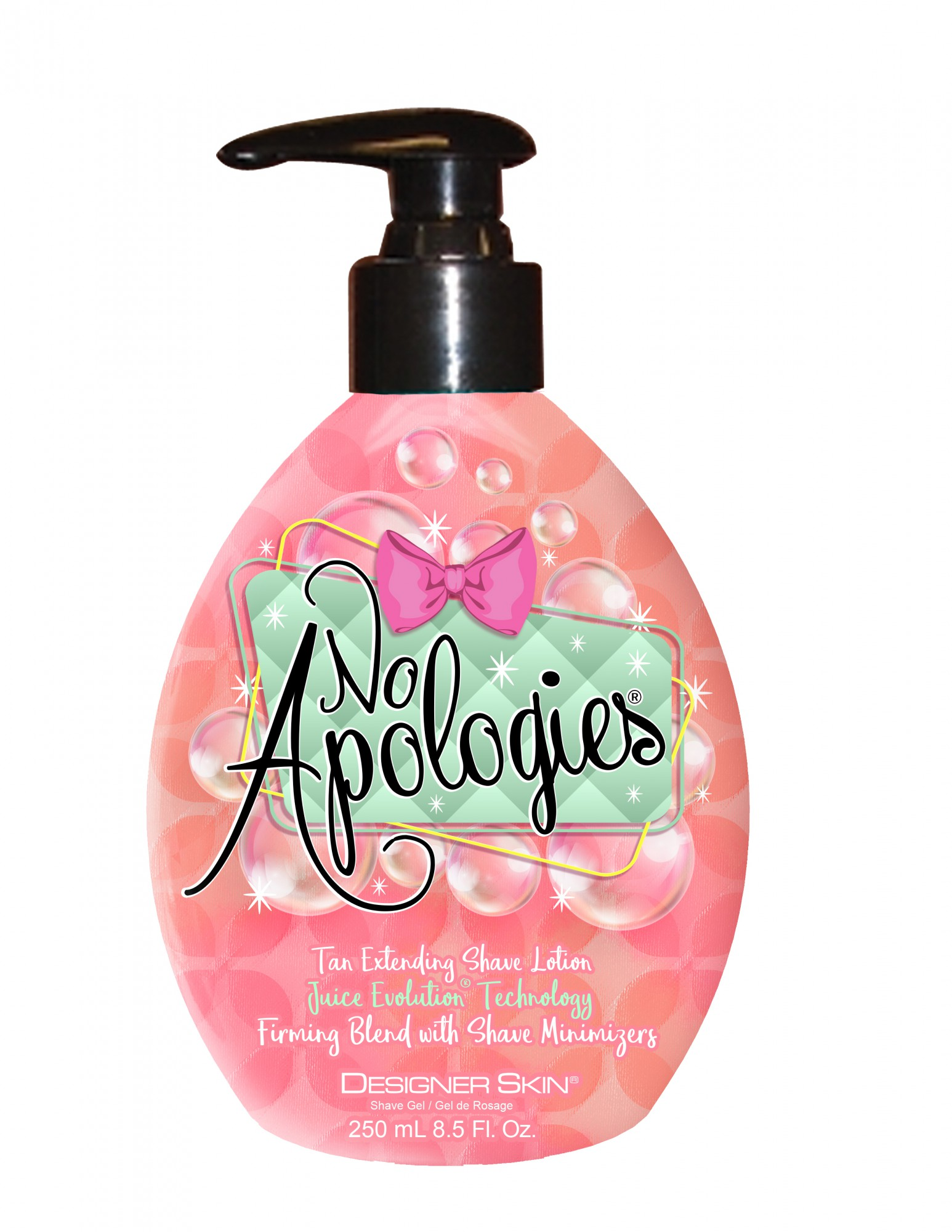 No Apologies® Juice Evolution® Technology Tan Extending Shave Lotion