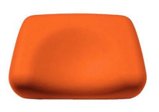 Foam Contour Pillow-Orange