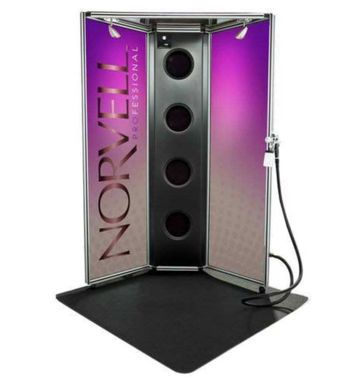 Norvell Arena Overspray Booth Color with Z3000 Unit