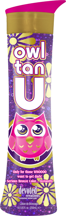 Owl Tan U™ Extreme Immediate and Delayed Bronzers